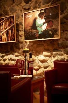 Cigar Lounge Detail