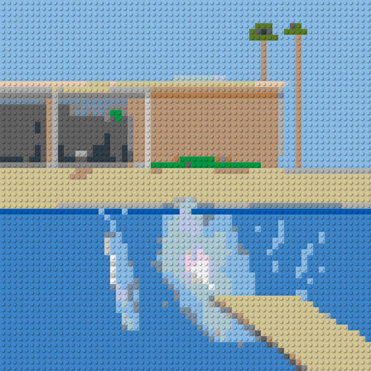 A smaller splash in Lego