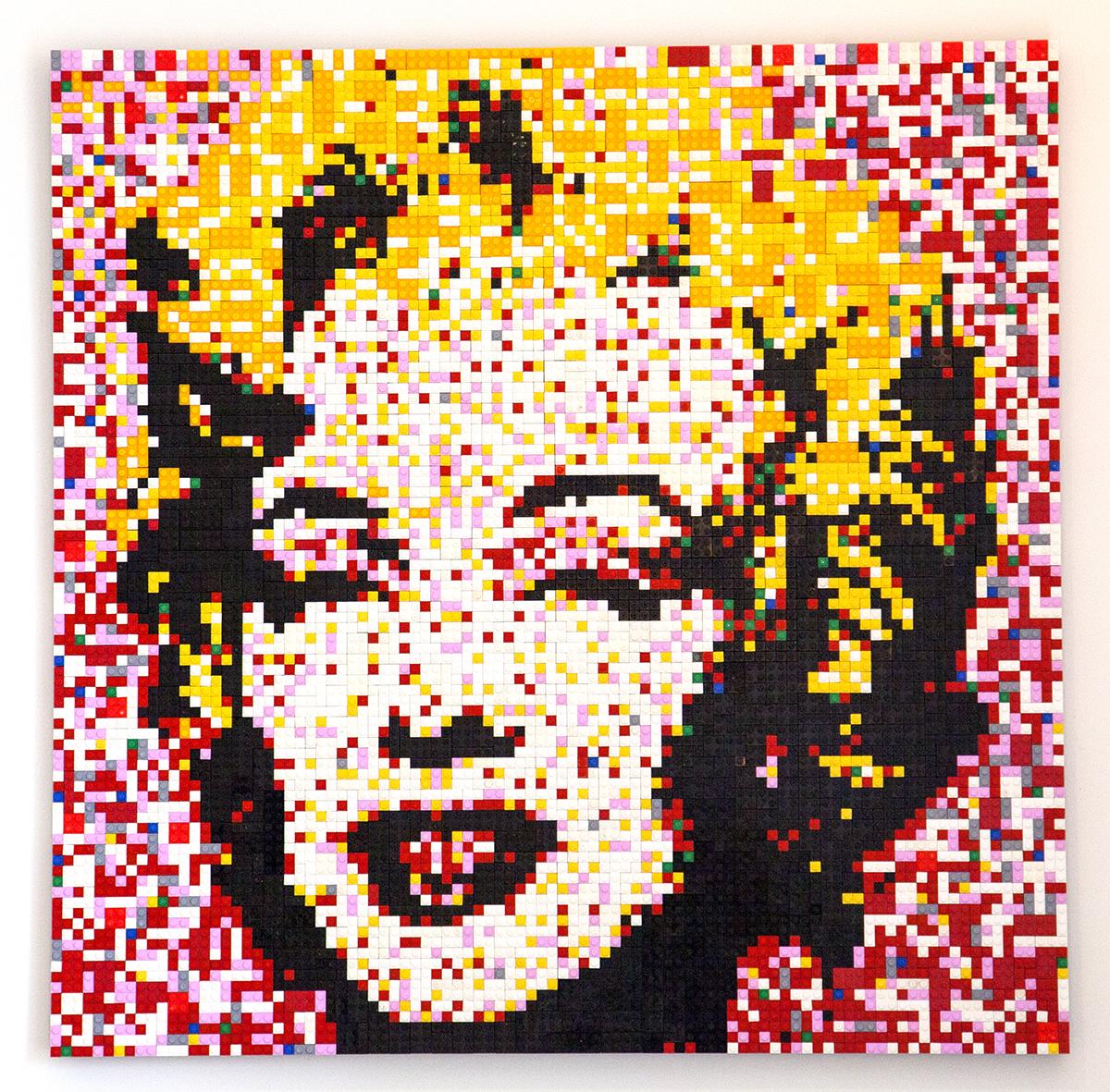 Marilyn in Lego