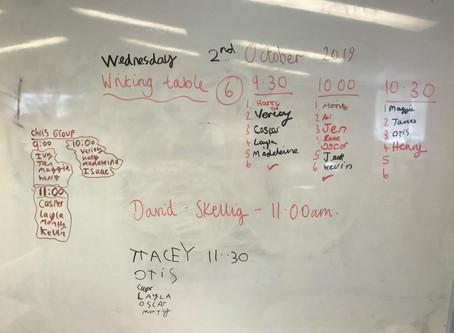 Organisational Skills!
