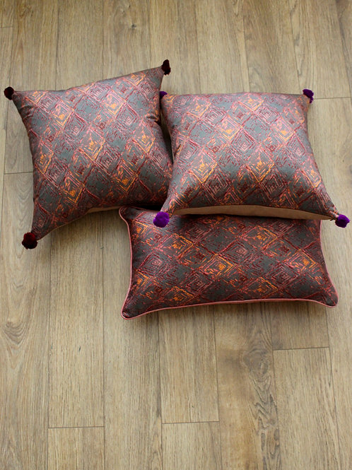 Moss mud cloth cushion cover