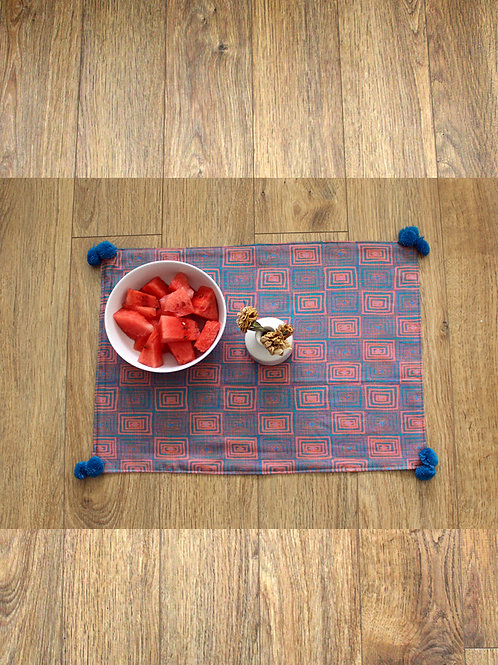 Effervescence Placemat - Set of 4