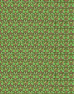 Chartreuse Filigree