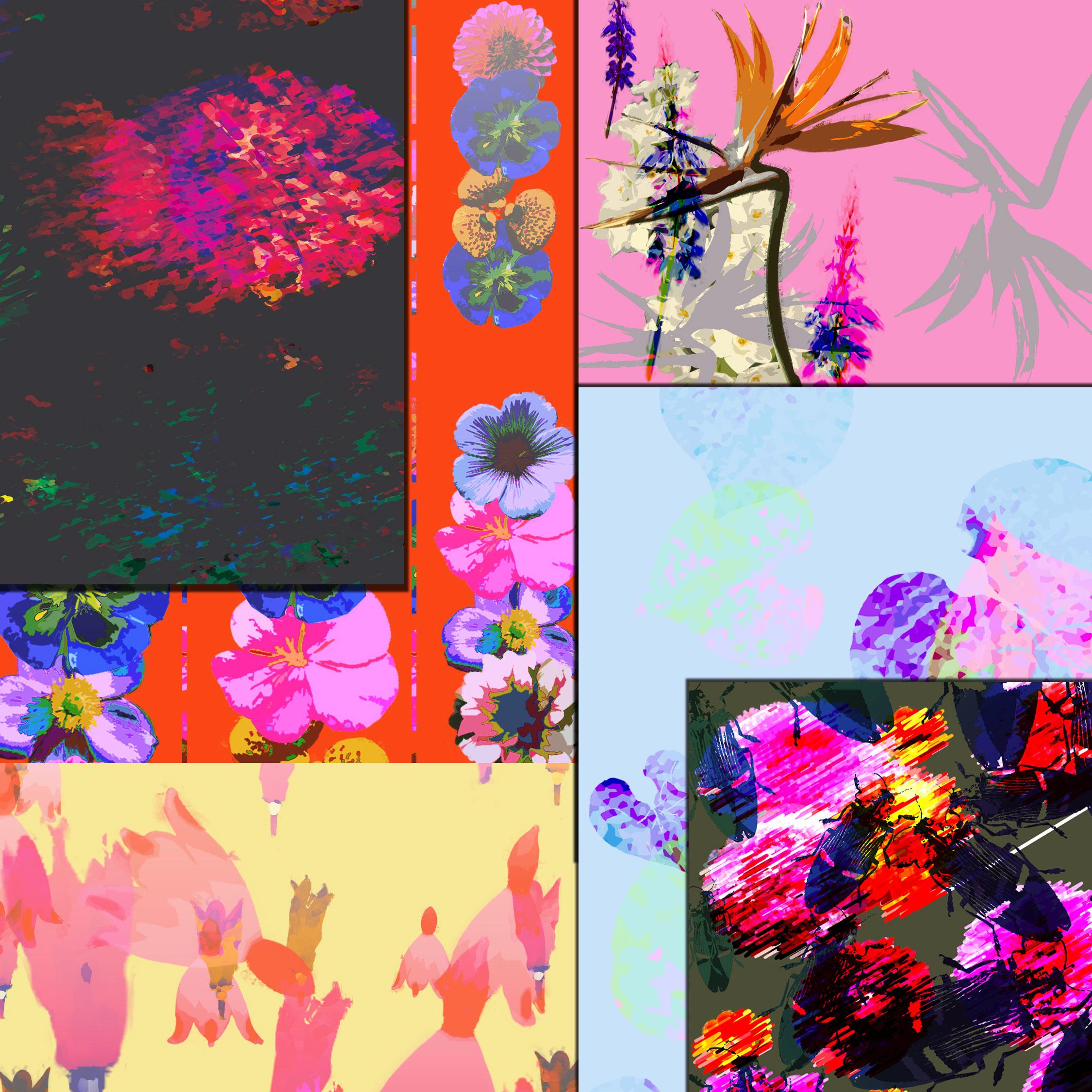 Summer Floral prints