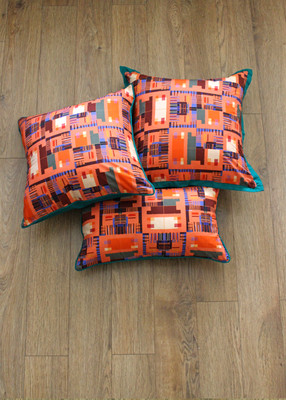 Orange abstract cushion_1.jpg