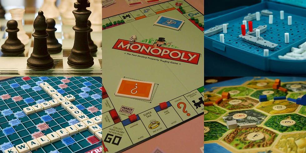 Board Games & Pizza