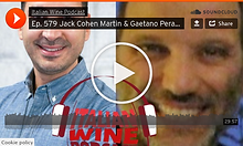 Italian Wine Podcast Ep 579 Play Button.