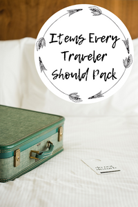 Travel and Lifestyle. Travel Essentials. Packing List. Carry on items.