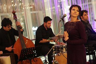 Jazz Band London, Jazz Singer Vilija Late at Night
