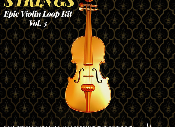 Golden Strings: Epic Violin Loops Vol. 3