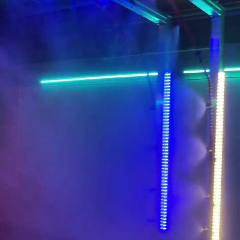 Video Of LED Tube Lights In Car Wash