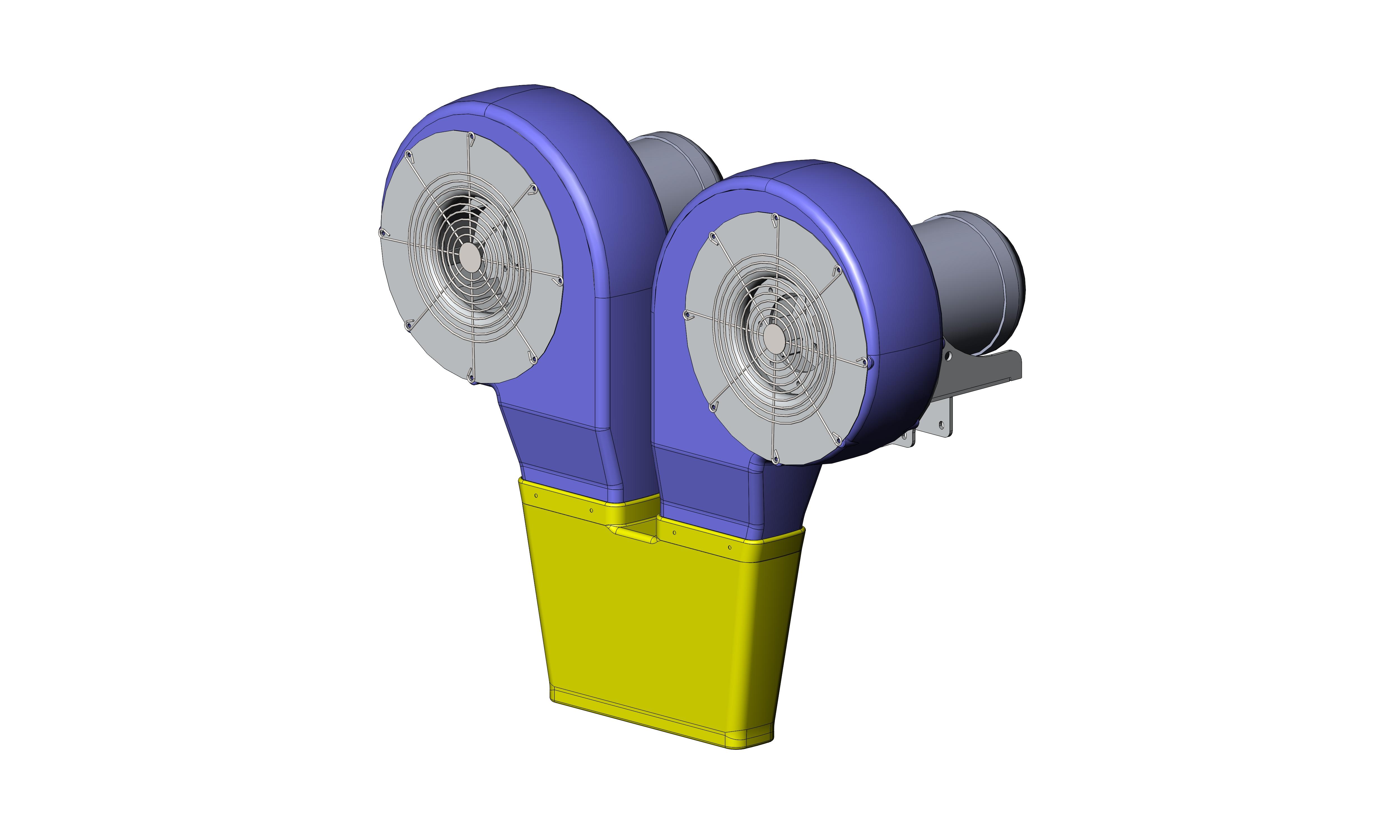 5 HP Dual Nozzle