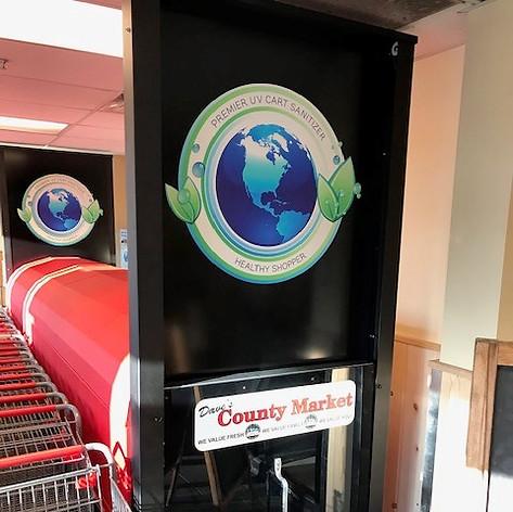 Door Of UV-Cart Sanitizer