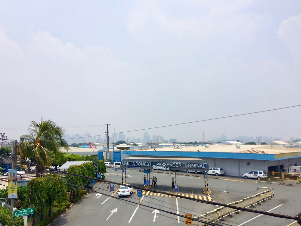 Manila Domestic Airport in the Philippines