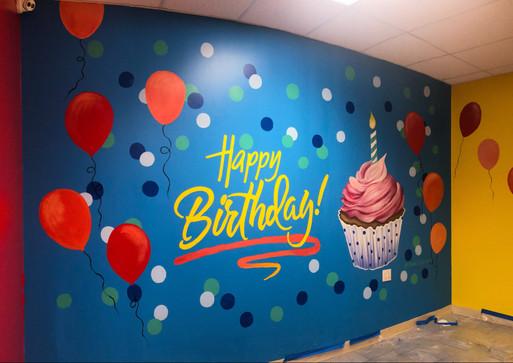 Birthday Mural