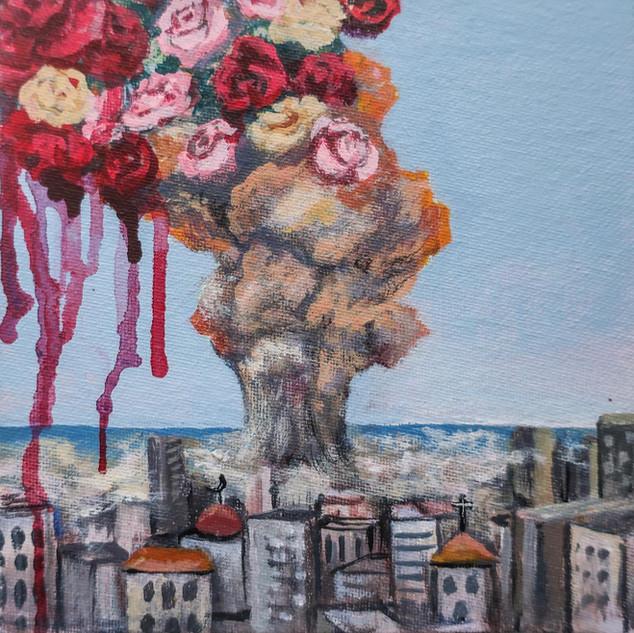 """Shards of Hope""  6x6  Acrylic on Canvas.jpg"