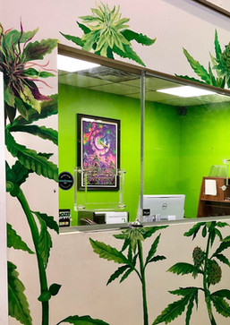 420 Factory Buds Mural/ 12×10 ft
