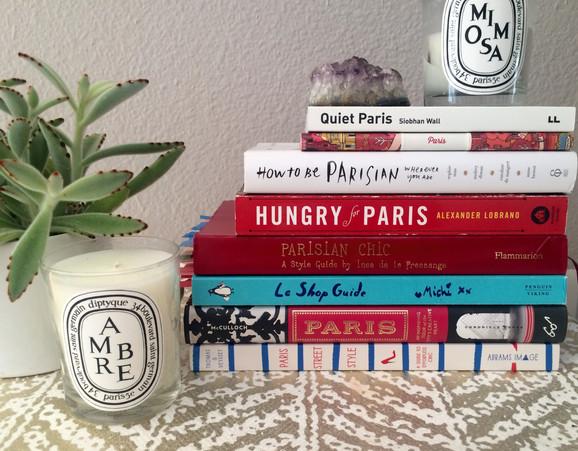Books I read before Paris