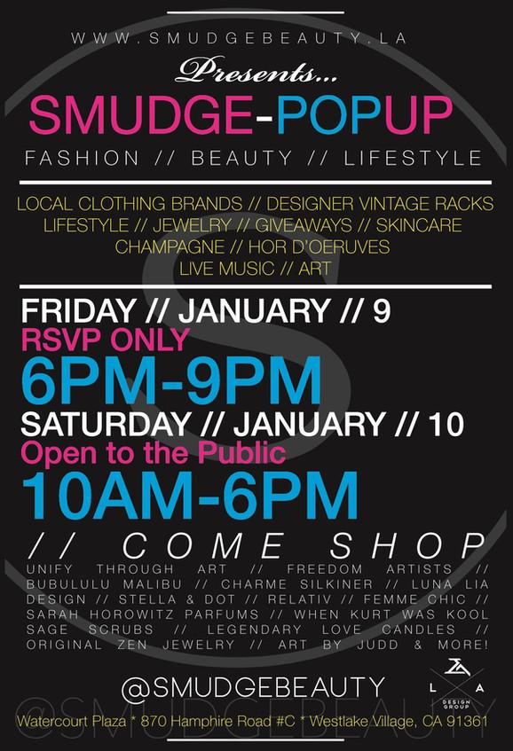// SMUDGE - SMUDGE Pop-Up Shop //