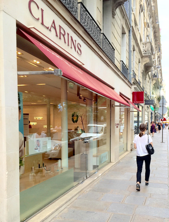 Clarins Paris Flagship Store  + My Daily Skincare Regimen Product Review