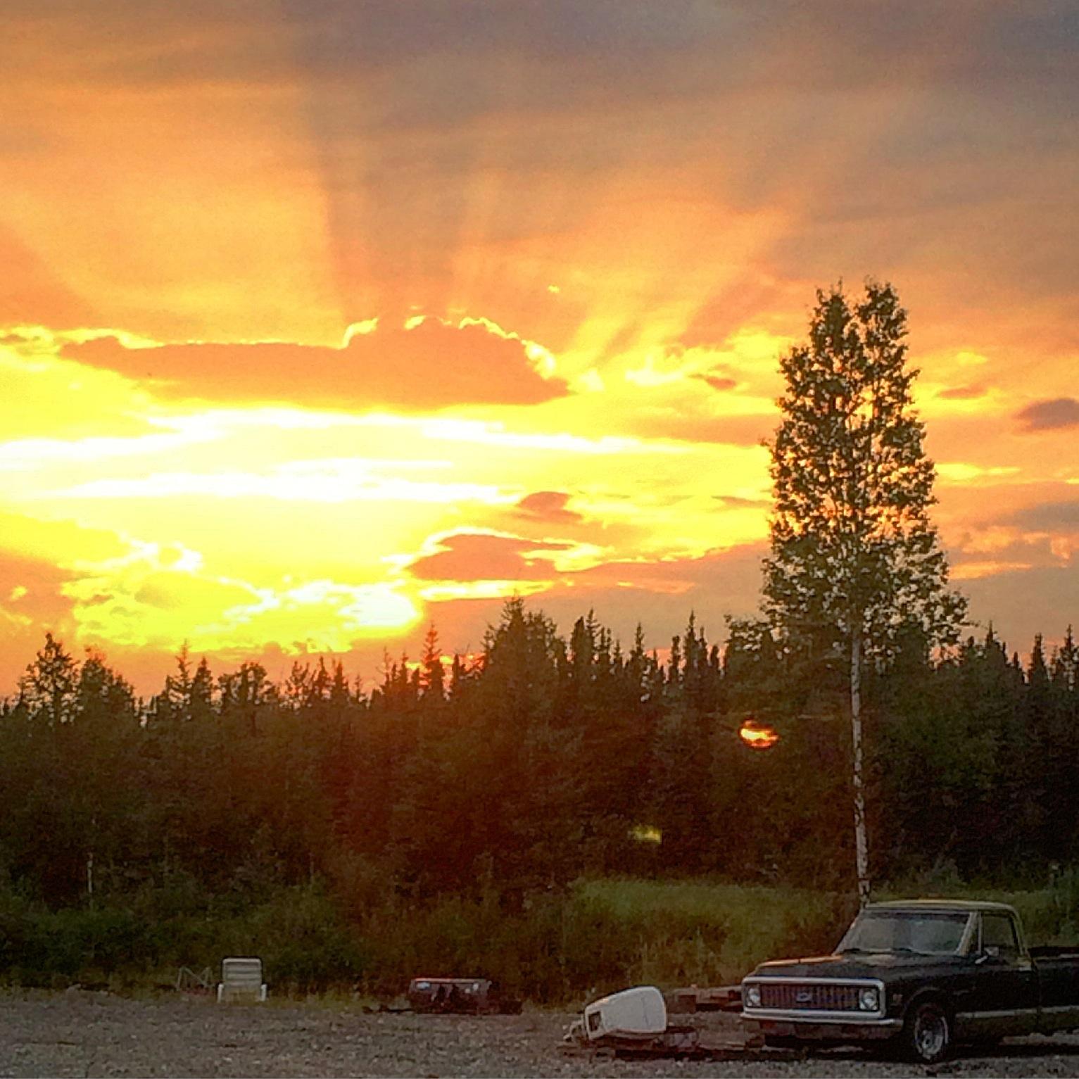 Solstice Rays