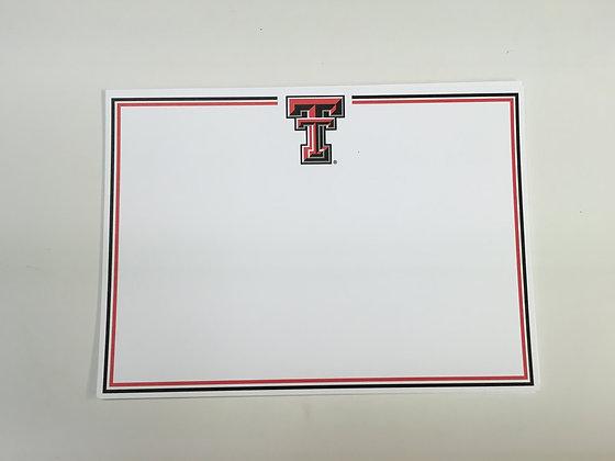 Texas Tech Invitation Blank