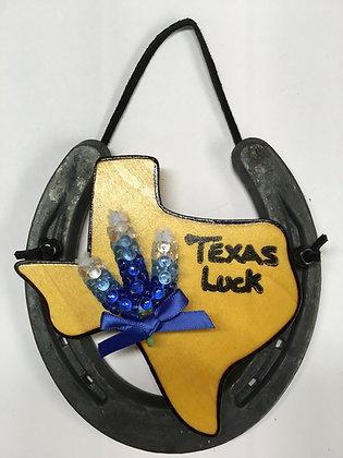 Horseshoe Bluebonnets - Texas Luck