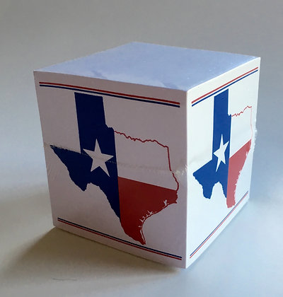 Texas Flag Note Cube
