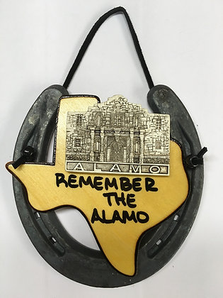 Horseshoe Alamo - Remember the Alamo