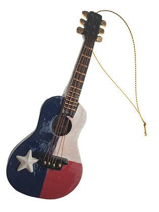 Guitar Flag Ornament