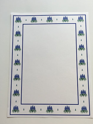 Bluebonnet Icon Stationary