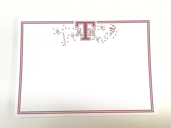 Texas A & M Party Invitation
