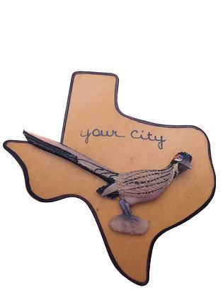 Texas Roadrunner Magnet