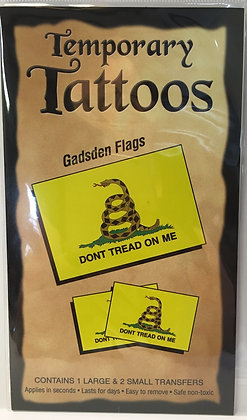 Gadsden Flag Tattoo Set