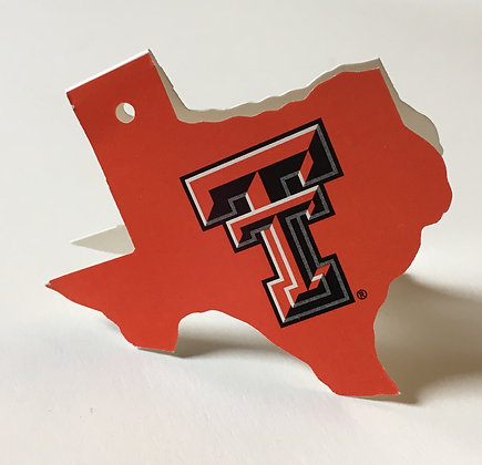 Texas Tech Red Gift Tag