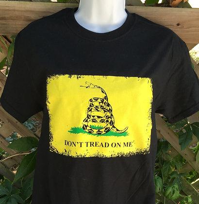 "Gadsen Flag ""Don't Tread On Me"" T-shirt"