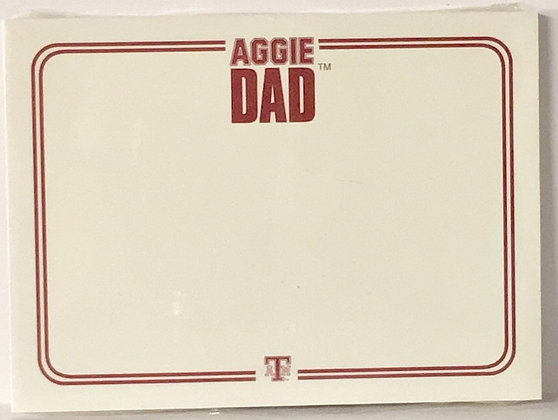 Post It Note Texas A & M Aggie Dad