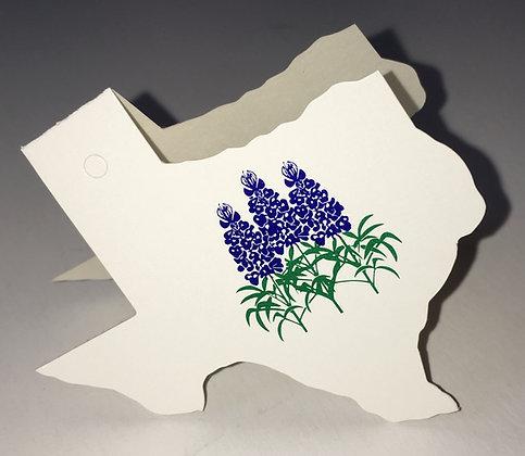 Bluebonnet Gift Tag