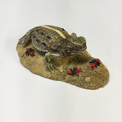Horny Toad Paperweight