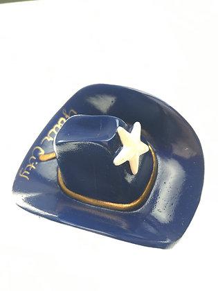 Blue Cowboy Hat Magnet