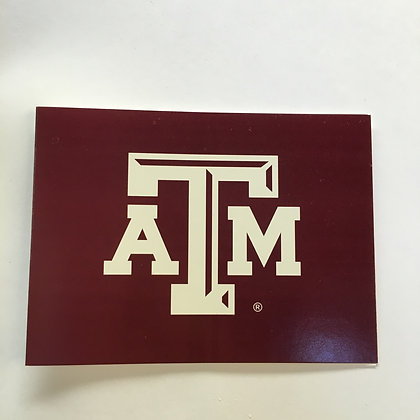 Notecards Texas A & M Maroon
