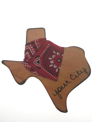 Texas Bandana Magnet
