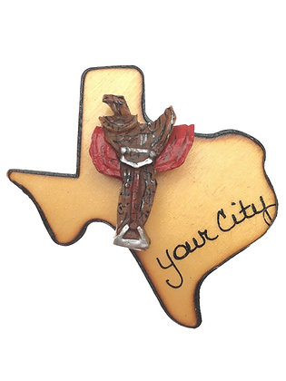 Saddle on Texas Magnet