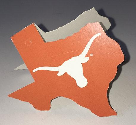 UT Longhorn Orange Gift Tag