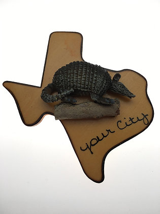 Armadillo Texas Magnet