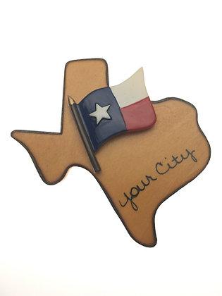 Texas Flag Magnet