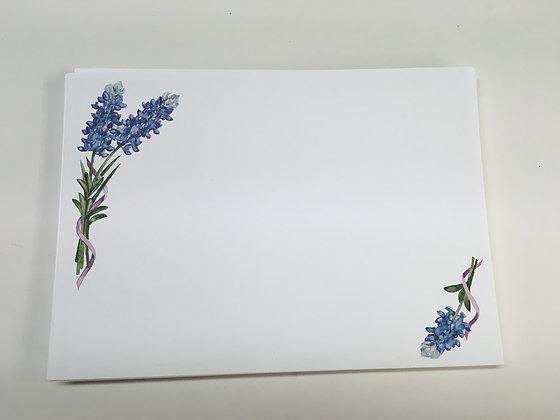 Bluebonnet Invitation Blank