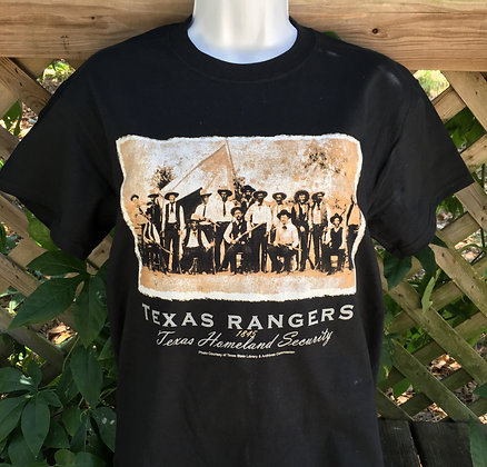 Texas Rangers Homeland Security T-shirt