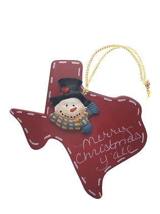 Assorted Lot of Texas Ornaments