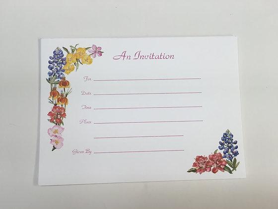 Wildflower Invitation FI